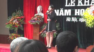 Đừng mãi ngồi đây Đơn ca Nguyễn Thị Linh Chi - CĐ TCNH K6