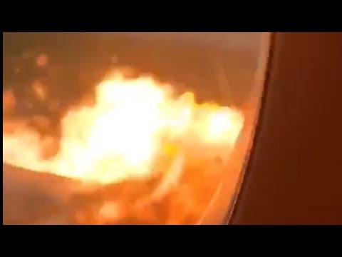 ПОЖАР В ВНУТРИ САМОЛЁТА ВИДЕО ПАССАЖИРА ШЕРЕМЕТЬЕВО || fire inside the plane passenger video