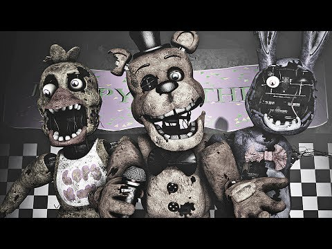 Five Nights at Freddy's Song (FNAF SFM 4K) | Music Box - Die In A Fire