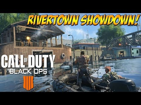 Call of Duty: Blackout Quads! Rivertown Showdown! - YoVideogames