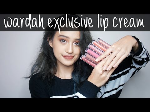 wardah-exclusive-matte-lip-cream-swatches-&-review-|-nadya-aqilla