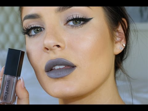Trying GREY LIPSTICK for the 1st time! Gross or Cute?
