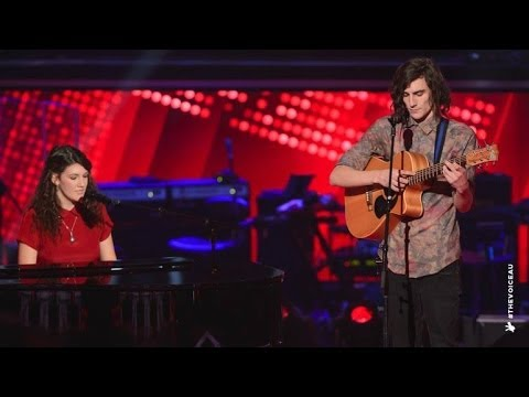Gabriel & Cecilia sings Titanium | The Voice Australia 2014