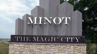 Tour of Minot North Dakota- With Commentary HD