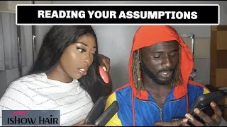 READING ASSUMPTIONS ABOUT US FT I SHOW HAIR  STUCK UP FXCK BUDDYS