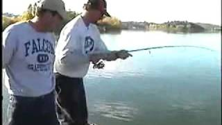 Fishing for Catfish on Clear Lake in CA