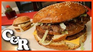 GIANT BIG MAC Recipe - Cook &amp Review Ep #48