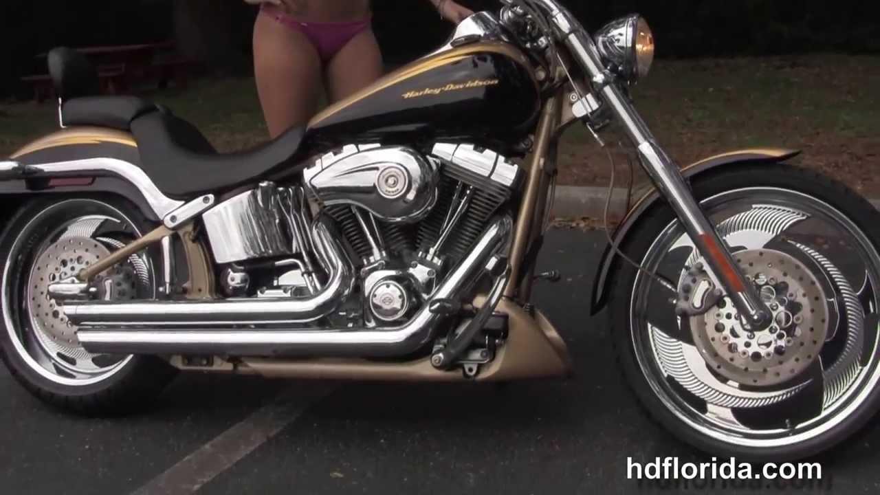 Used 2003 Harley Davidson CVO Softail Deuce Motorcycle for