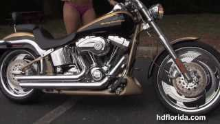 Used 2003 Harley Davidson CVO Softail Deuce Motorcycle for sale