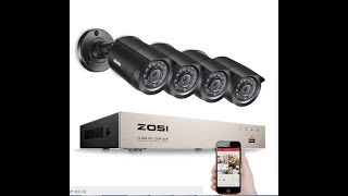 Распаковка комплекта видеонаблюдения ZOSI на 4 камеры.  Комплект видеонаблюдения на 4 камеры ZOSI(, 2018-02-19T19:25:37.000Z)