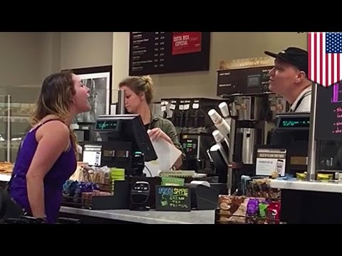 Thumbnail: Crazy woman blew up at white Peet's barista months before epic Michaels rant - TomoNews