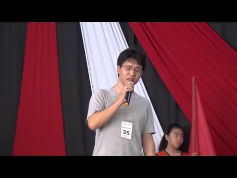 56 Jin-E Hitoshi Shimizu Sensei - Maringá - Kōhaku Utagassen Seniores Budistas – Araçatuba – 2015