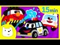 Tidi Car Songs♬ 자동차동요 영어동요 연속듣기 15분 ♪   인기동요   창작동요   티디 인기동요 연속듣기 X 지니키즈