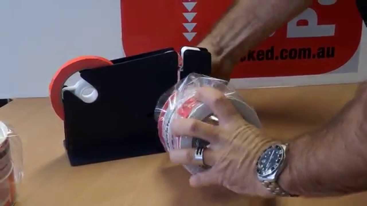 Plastic bag tape sealer - Bag Neck Sealer Or Tape Bag Sealing Dispenser