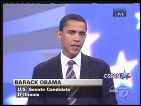 Alan Keyes v. Barack Obama debate on Death Penalty