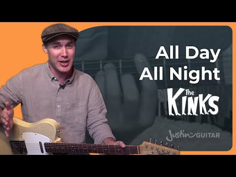 All Day All Night - The Kinks - Guitar Lesson (SB-428) How to play