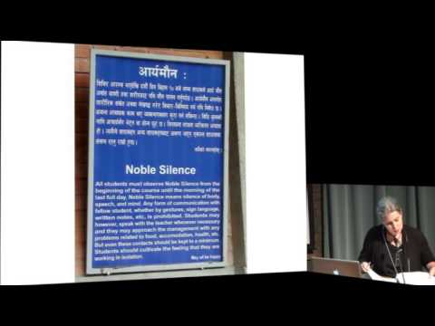 """Lauren Leve - """"The Best Dharma for Today"""": Mindfulness Meditation ... (ASI 2013)"""