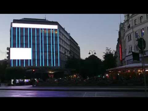 Dustin – Atracta –  140 sqm High Definition LED in Stockholm Sweden