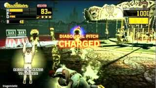 Diabolical Pitch gameplay (Kinect game)