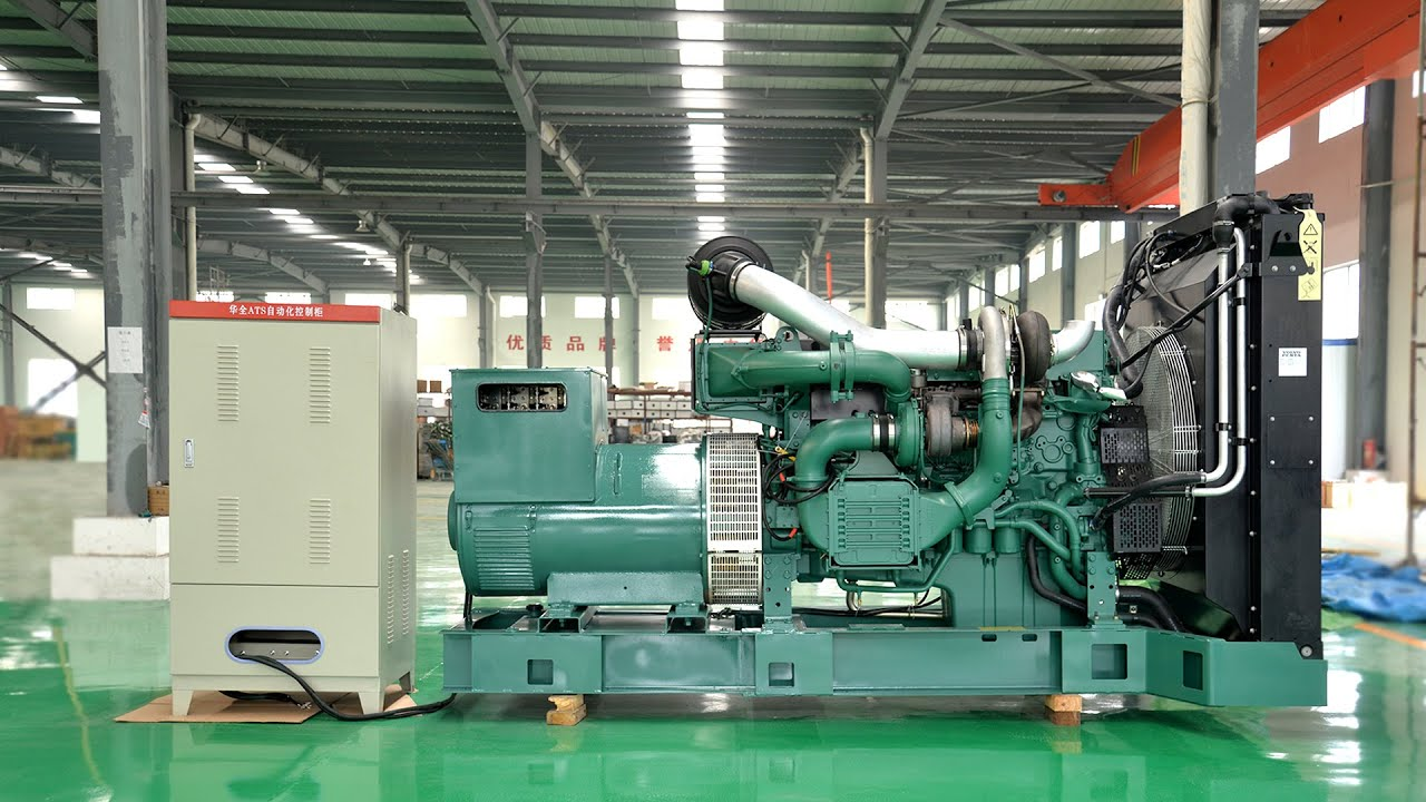 volvo 625kva sel generator 500kw sel generator set