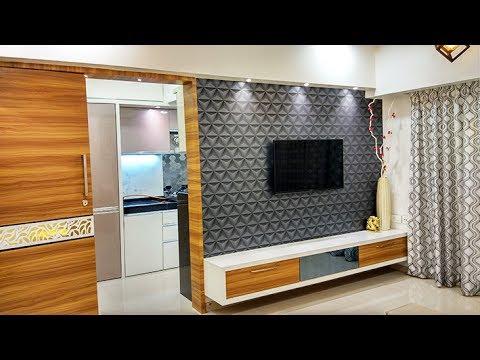 "1 BHK Home Interior Design Idea"" By Makeover Interiors YouTube"
