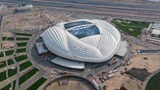 В Катаре открыли стадион для ЧМ-2022 по проекту Захи Хадид