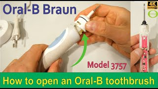 How to open an Oral-B Braun el…