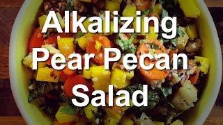 Alkalizing Pear Pecan Salad