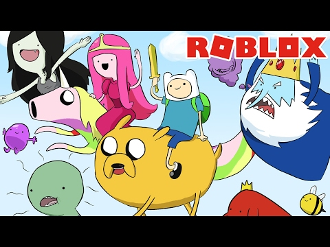 É HORA DE AVENTURA! – Roblox (Adventure Time Obby)