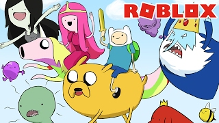 IT'S ADVENTURE TIME! -ROBLOX (Obby Time Adventure)