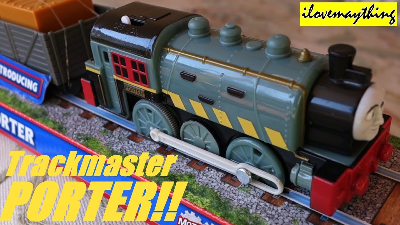 unboxing porter thomas amp friends trackmaster toy train