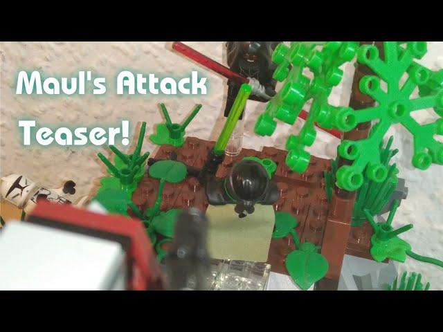 Lego Star Wars Moc - Mauls attack (OFFICIAL TEASER) [German]