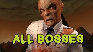Evil Dead: Regeneration | All Bosses (with cutscenes)