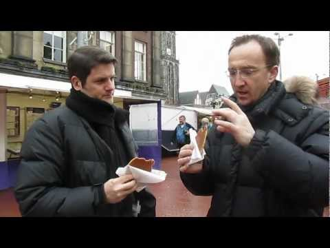 "Hot & Fresh ""Stroopwafels"" in Groningen, Holland"