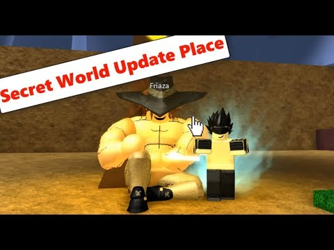 Secret World Location (NEW UPDATE) | Dragon Ball Z Final Stand