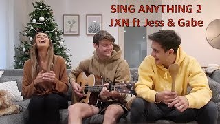 One of Jacko Brazier's most viewed videos: Sing Anything 2 ft Jess and Gabriel Conte
