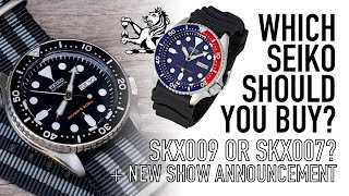 How To Choose Between Buying A Seiko SKX009 Or SKX007 & New Series Announcement