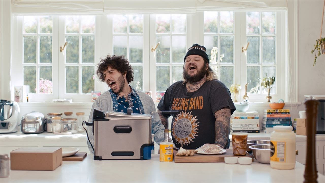 Download BEST MALA-SPICED FRIED CHICKEN DONUT - WILL MRS.BLANCO LIKE IT?   ep 3   Stupid F*cking Cooking Show