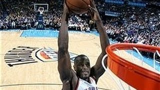 Serge Ibaka And-1 Dunk on Marcin Gortat!