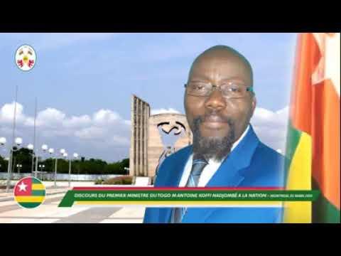 """Togo:Premier ministre"""" nommé par Agbéyomé Kodjo s'adresse aux Togolais pour sa première sortie."""