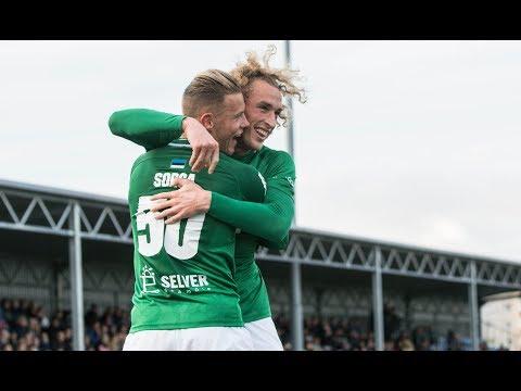 33. voor 2018: JK Narva Trans - Tallinna FC Flora 1:2 (1:2)