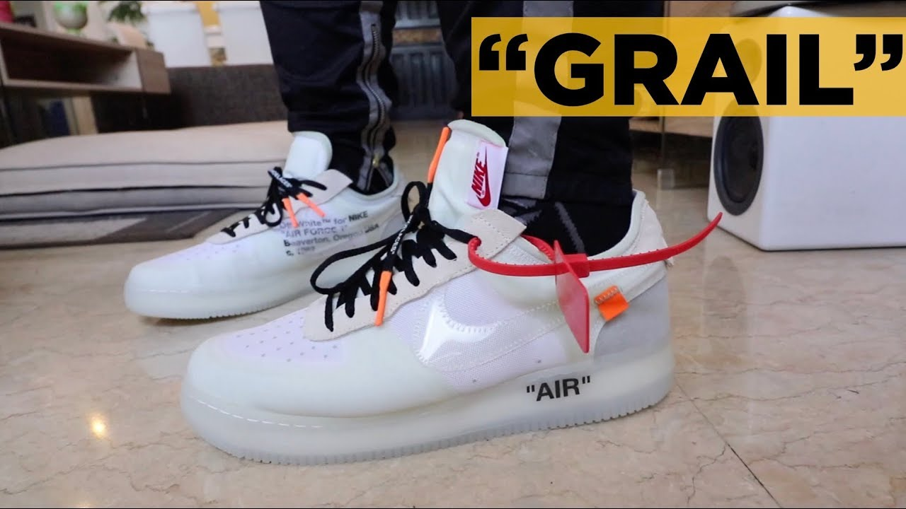 OFF WHITE AIR FORCE 1 ON FEET REVIEW (+GIVING AWAY A SMARTPHONE!)
