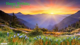 Carl  Nature & Naturaleza - Happy Birthday
