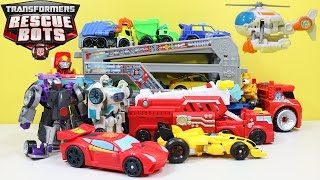 New BEST of Transformers Rescue Bots Part 1