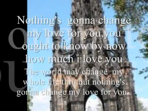 Nothing's gonna change my love for you by Air supply.wmv