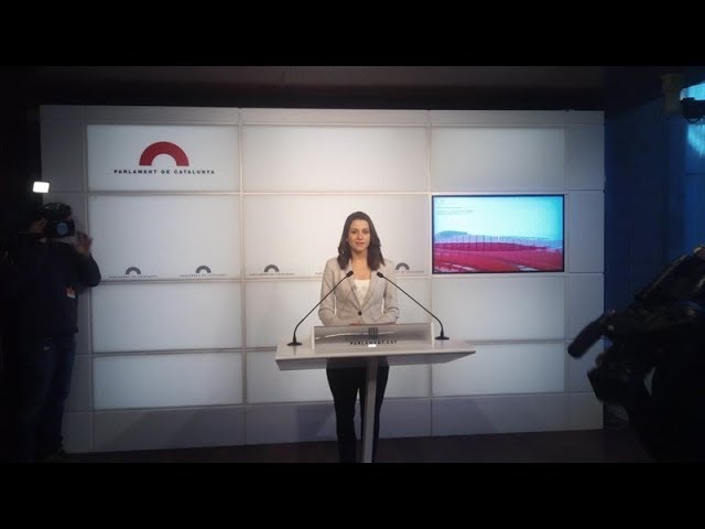 Siga en vídeo y en directo la sesión constitutiva del Parlament de Cataluña