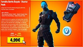 🔴 NEW STARTER PACK in the BOUTIQUE of JANUARY 19th! LIVE FORTNITE EN