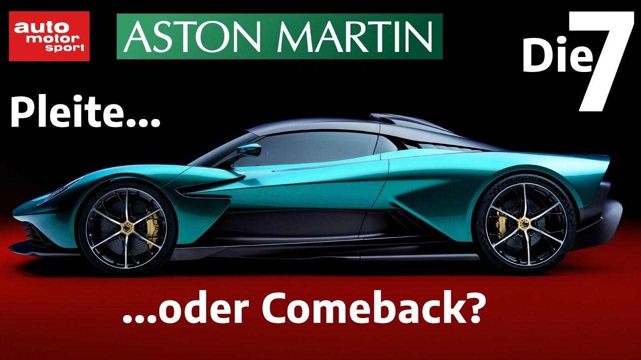 Mit dem Supersportler Valhalla zurück in die Erfolgsspur? 7 Fakten zu Aston Martin |auto motor sport