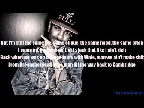Higher - Big Sean Lyrics Onscreen