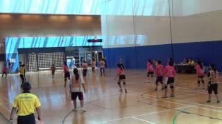 女子組  凌峰體育對香港聖瑪加利女書院乙隊 2015年09月